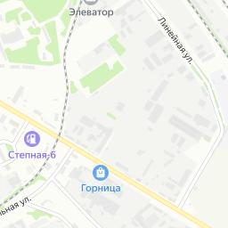 краснодарский элеватор на карте